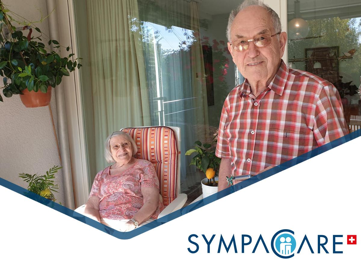 """Seniorenbetreuung zu Hause: """"Wir sind sehr glücklich mit der Lösung."""""""