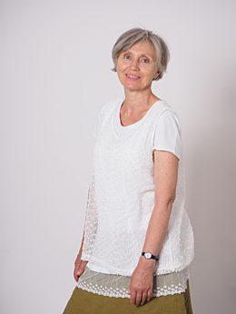 Mitarbeiterin Maria Kokocinska seitlich